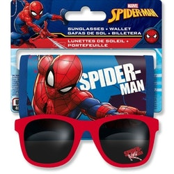Spiderman Solglasögon & Plånbok