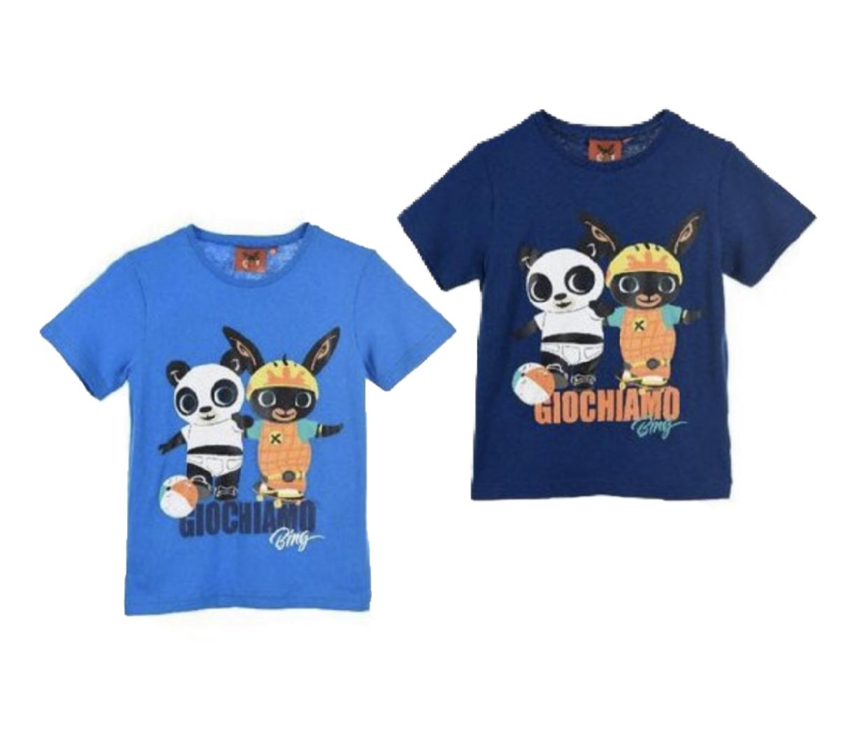 Bing blå T-shirt