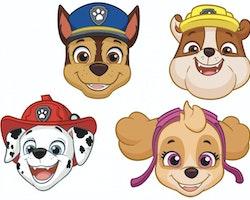 Paw Patrol 8-pack masker I papp