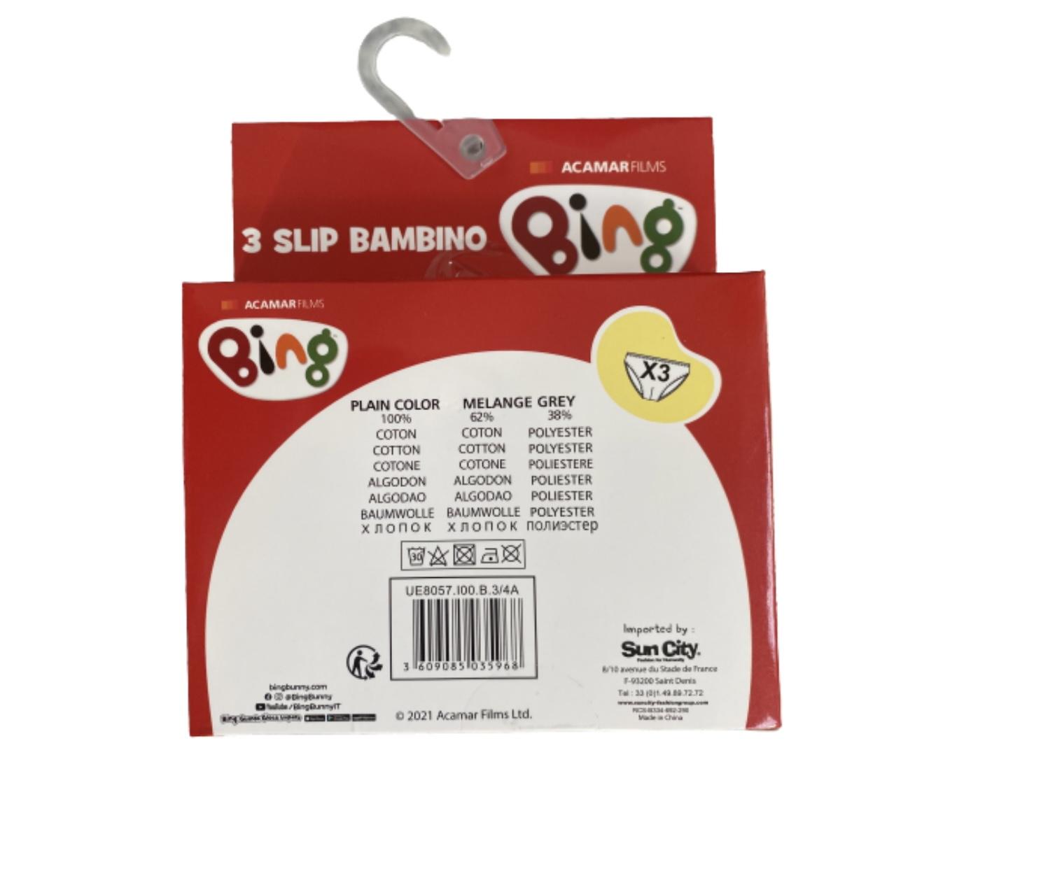 Bing 3-pack kalsonger