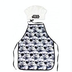 Star Wars förkläde med kockmössa