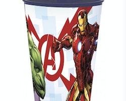 Avengers plastmugg 260 ml