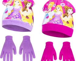 Disney Prinsess Mössa/vantar set