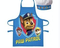 Paw Patrol förkläde med kockmössa