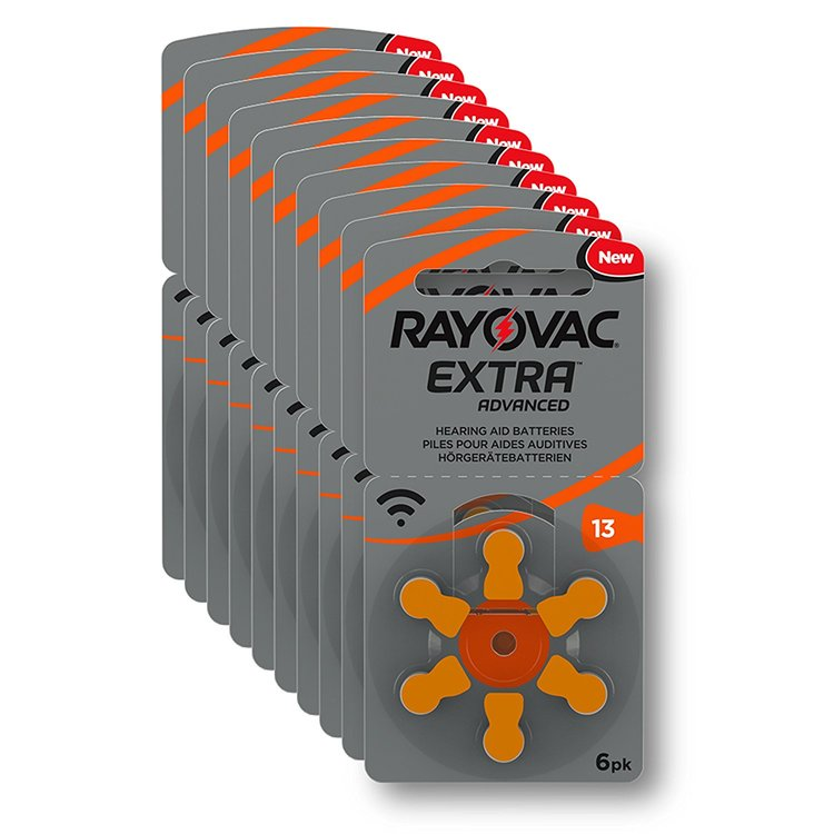 10 Pack Rayovac 13 ORANGE