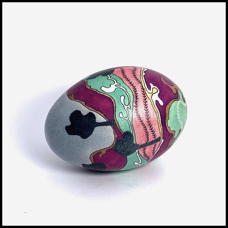 Landscape egg