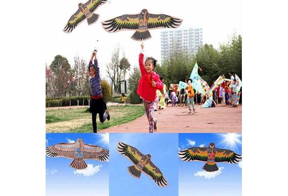 Flyga drake - Rolig Sport ,1.1m Flygande drake. Mått: 110 x 50 cm. Motiv: Örn