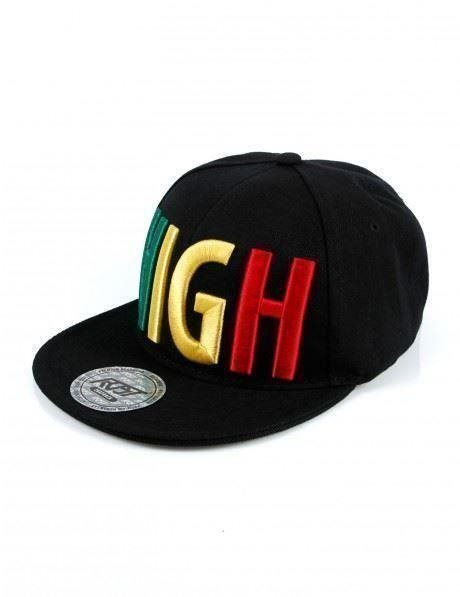 RDST High Logo High Life Snapback Cap Black. Coola Färger! Broderad text