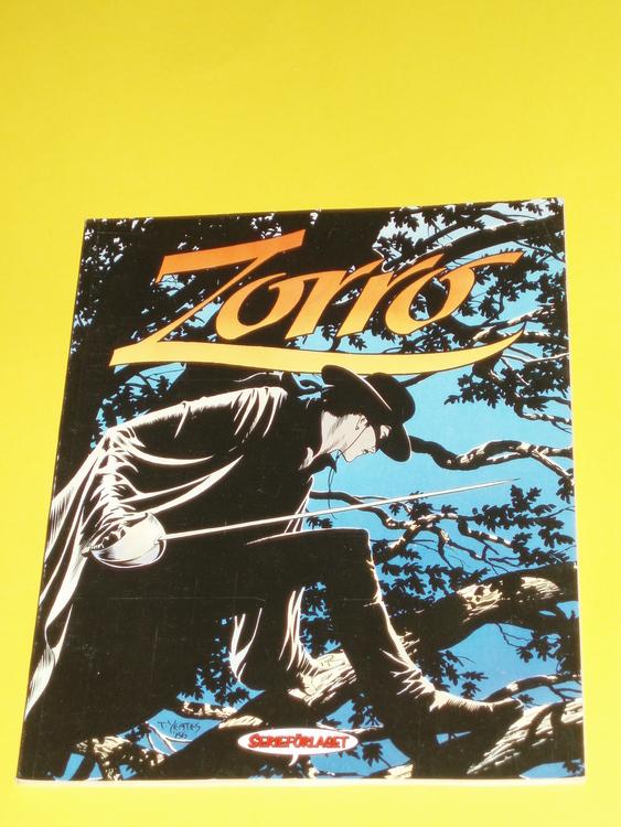 """Zorro """"I det gamla Californien"""" mycket bra skick, serieförlaget"""