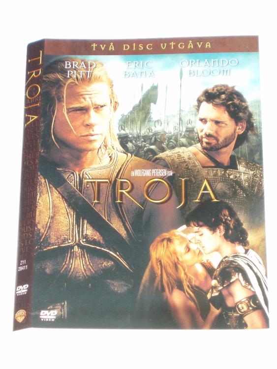 DVD Troja skiva och omslag svensk text,normalt begagnat skick.
