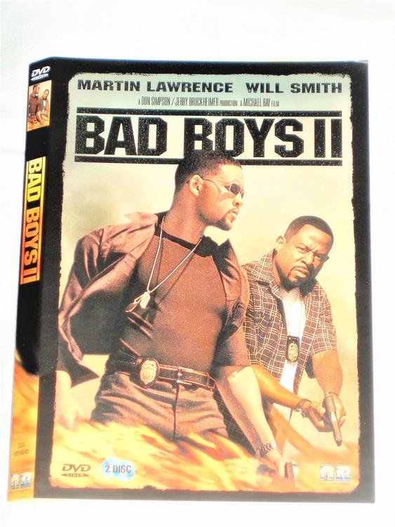 DVD Bad Boys II skiva och omslag svensk text,normalt begagnat skick.