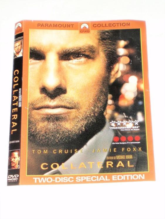 DVD Collateral skiva och omslag svensk text,normalt begagnat skick.