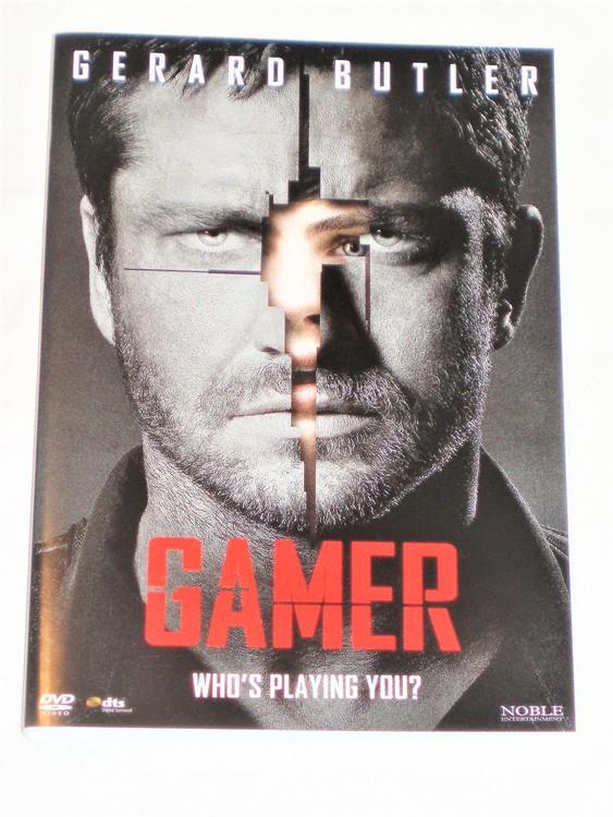 DVD Gamer skiva och omslag svensk text normalt begagnat skick.