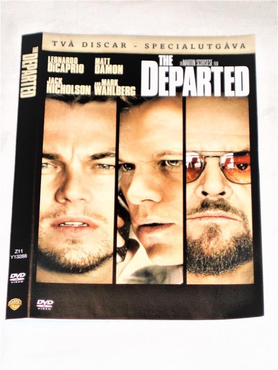 DVD The Departed skiva och omslag svensk text,normalt begagnat skick.