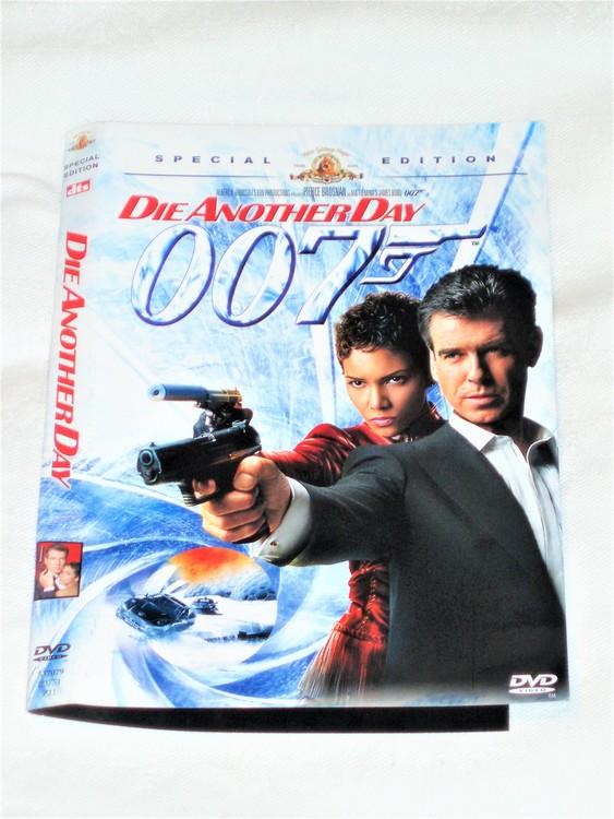 DVD Die Another Day skiva och omslag svensk text,normalt begagnat skick.