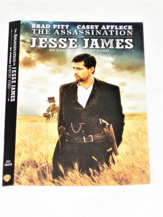 DVD Assassination of Jesse James skiva+omslag svensk text,normalt begagnat skick.