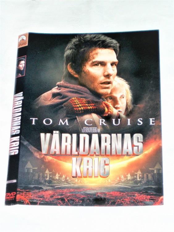 DVD Världarnas Krig skiva och omslag svensk text,normalt begagnat skick.