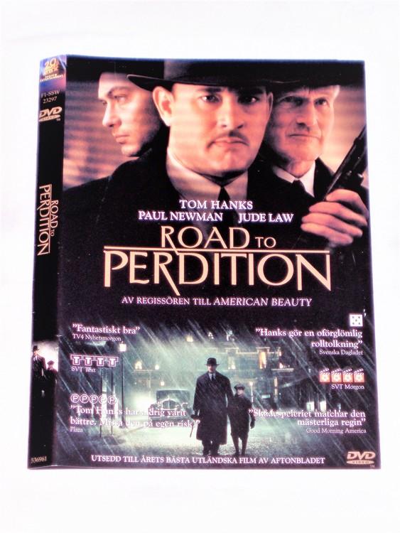 DVD Road to Perdition skiva och omslag svensk text,normalt begagnat skick.