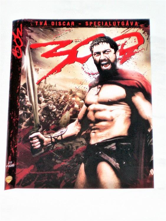 DVD 300 skiva och omslag svensk text,normalt begagnat skick.
