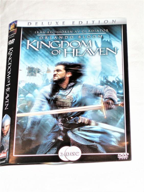 DVD Kingdom of  Heaven skiva och omslag svensk text,normalt begagnat skick.