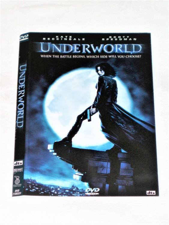 DVD Underworld skiva och omslag svensk text,normalt begagnat skick.