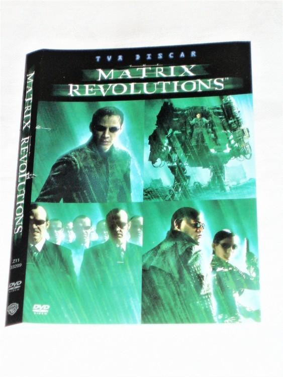 DVD Matrix skiva och omslag svensk text,normalt begagnat skick.