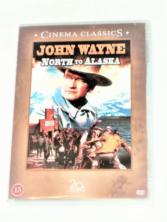 John Wayne svensk text,normalt begagnat skick.
