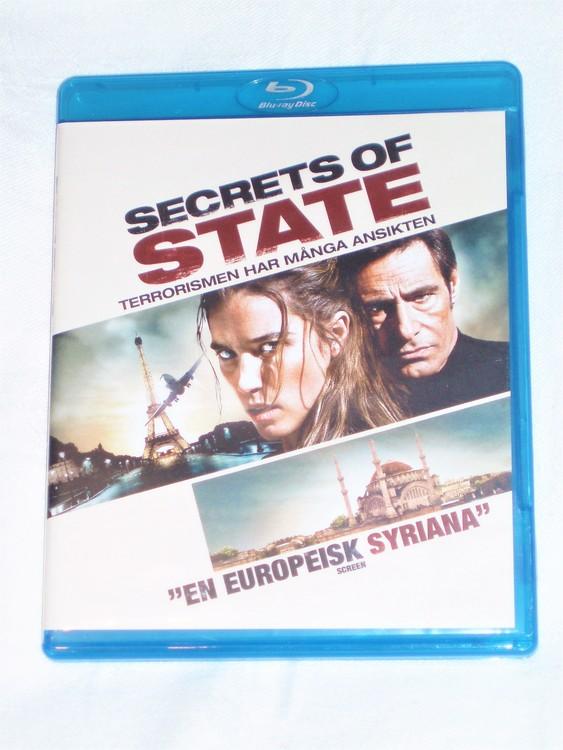 Secrets of State Blu-ray svensk text,normalt begagnat skick.