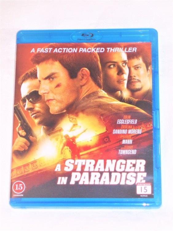 A Stranger in Paradise Blu-ray svensk text,normalt begagnat skick.