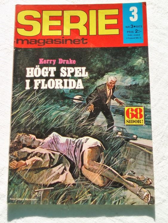 Seriemagasinet nr 3 1973 bra skick