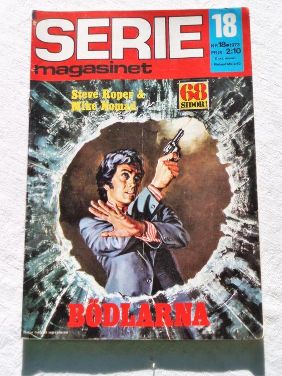 Seriemagasinet nr 18 1973 bra skick
