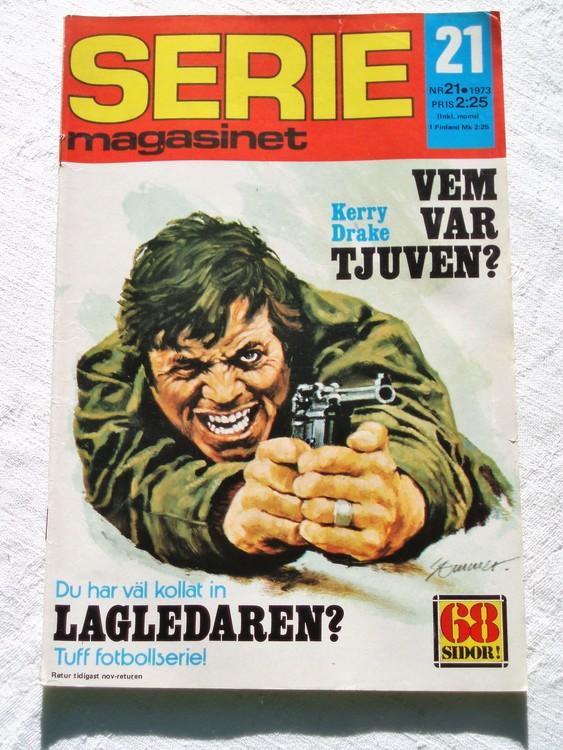 Seriemagasinet nr 21 1973 bra skick