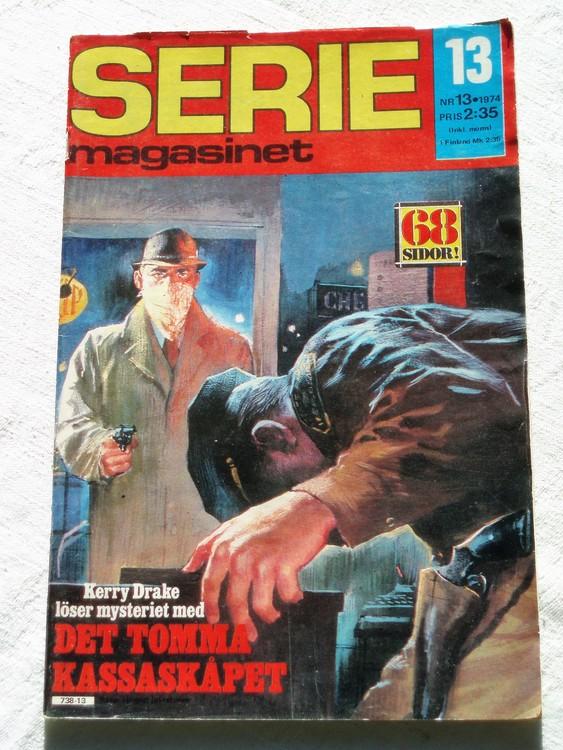 Seriemagasinet nr 13 1974 bra skick