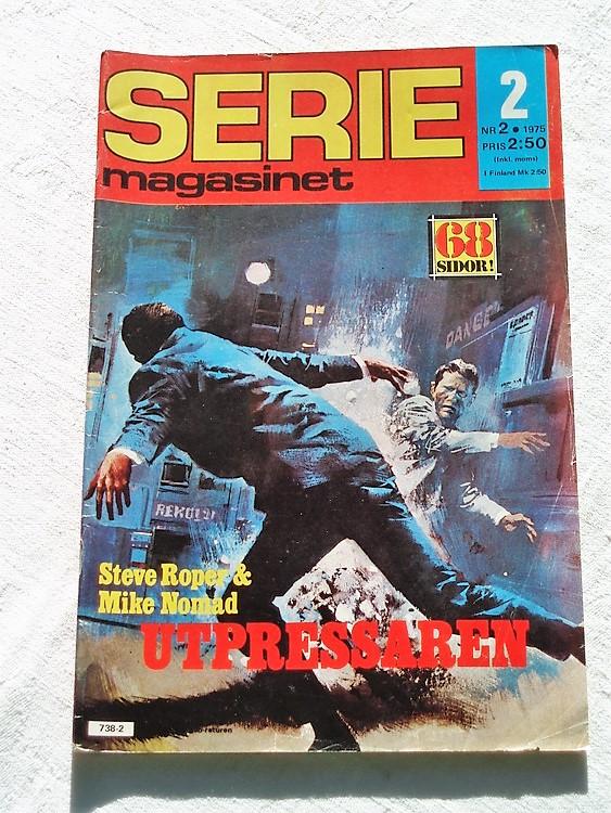 Seriemagasinet nr 2 1975 bra skick