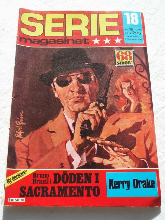 Seriemagasinet nr 18 1975 bra skick