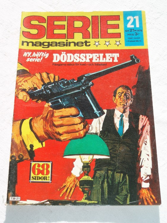 Seriemagasinet nr 21 1976 bra skick