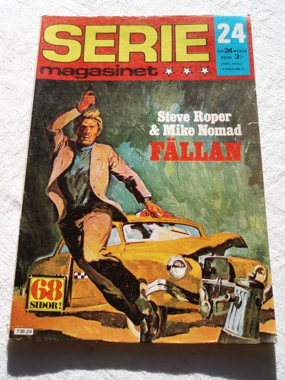 Seriemagasinet nr 24 1976 bra skick