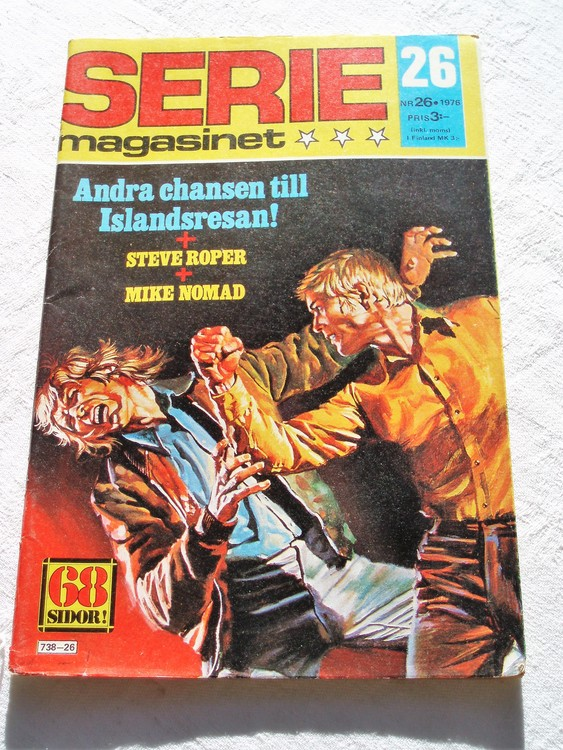 Seriemagasinet nr 26 1976 bra skick