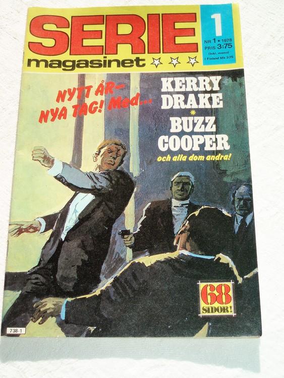 Seriemagasinet nr 1 1978 mycket bra skick ny oläst