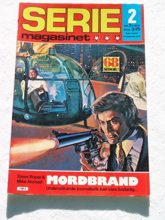 Seriemagasinet nr 2 1978 mycket bra skick ny oläst