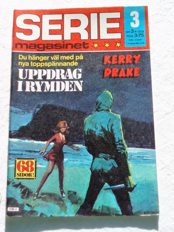 Seriemagasinet nr 3 1978 mycket bra skick ny oläst