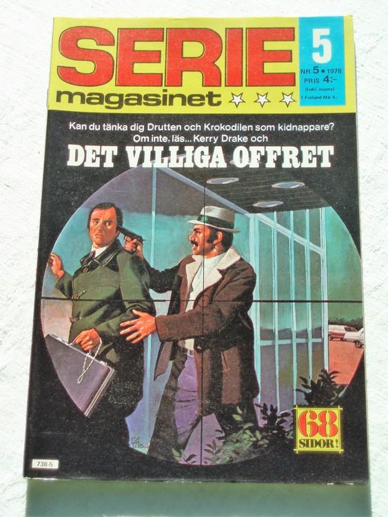 Seriemagasinet nr 5 1978 mycket bra skick ny oläst