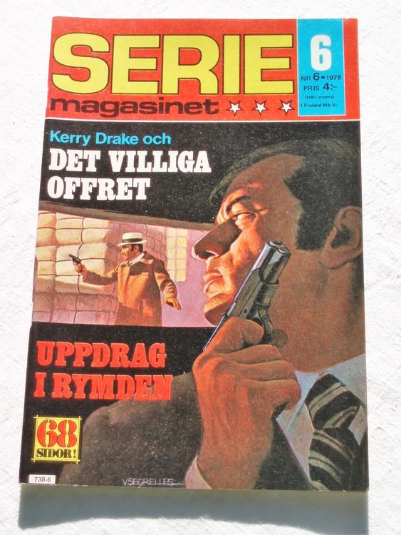 Seriemagasinet nr 6 1978 mycket bra skick ny oläst