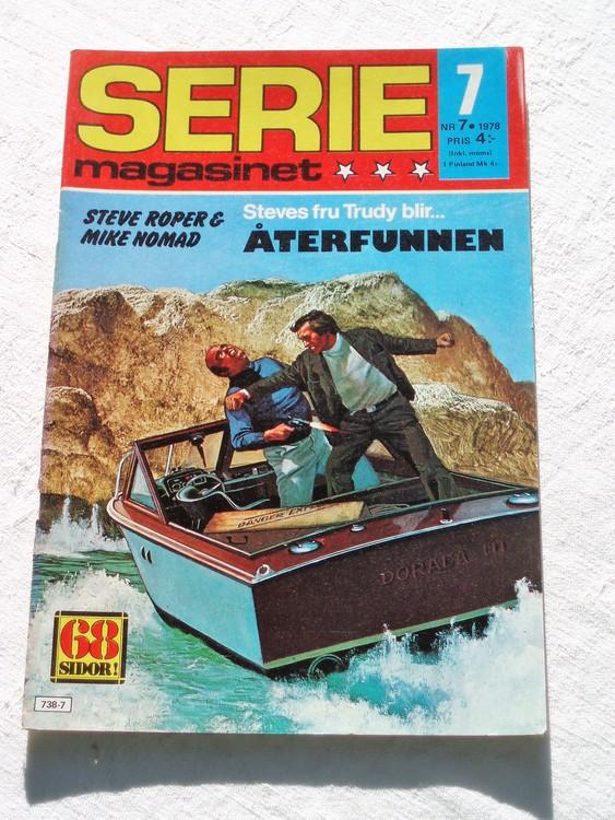 Seriemagasinet nr 7 1978 mycket bra skick ny oläst