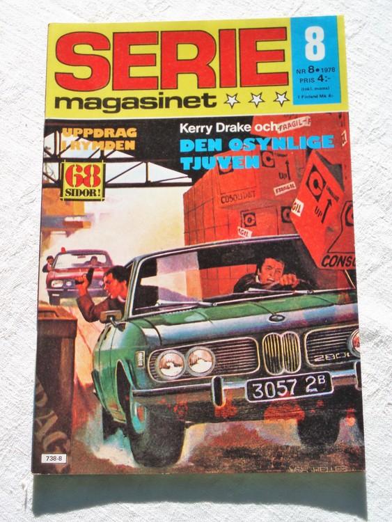 Seriemagasinet nr 8 1978 mycket bra skick ny oläst