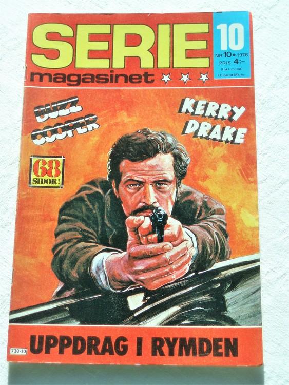 Seriemagasinet nr 10 1978 mycket bra skick ny oläst