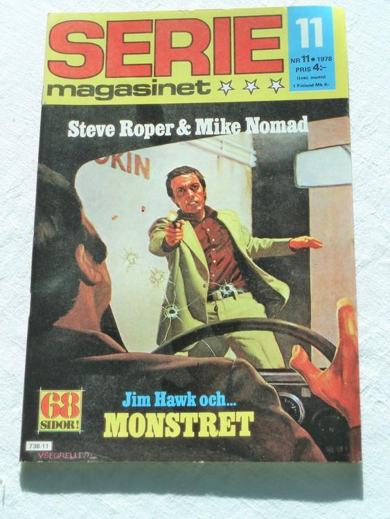 Seriemagasinet nr 11 1978 mycket bra skick ny oläst