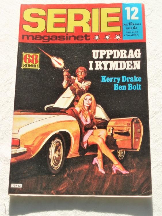 Seriemagasinet nr 12 1978 mycket bra skick ny oläst