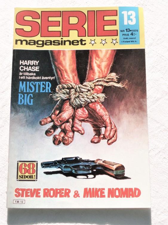 Seriemagasinet nr 13 1978 mycket bra skick ny oläst