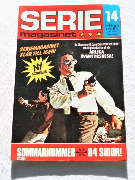 Seriemagasinet nr 14 1978 mycket bra skick ny oläst